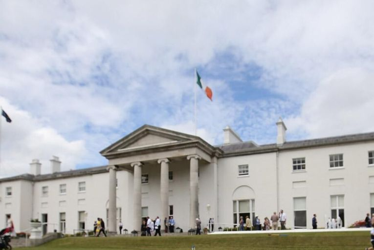 Brace yourself for an undignified race to the Áras
