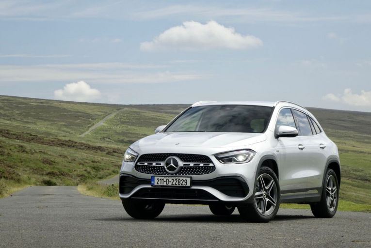 The Mercedes GLA is the company's smallest SUV, but in its second generation it has really come of age. Picture: Mercedes