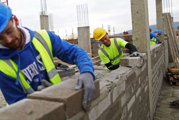 Blocks to progress: a slowdown in the planning permissions process is hampering the delivery of new homes. Picture: Bloomberg