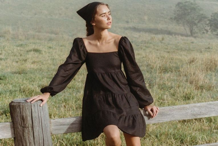 The Eryn dress, €189, from Faithful the Brand at Brown Thomas