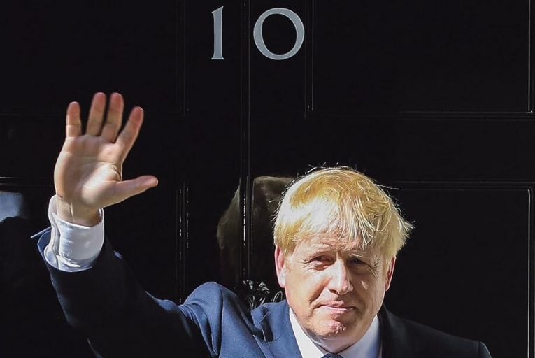 Boris Johnson: railing  against 'doomsters  and gloomsters' Pic: Getty