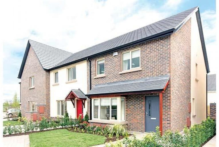 A three-bedroom house in the Hansfield development in Dublin 15four-bedroom