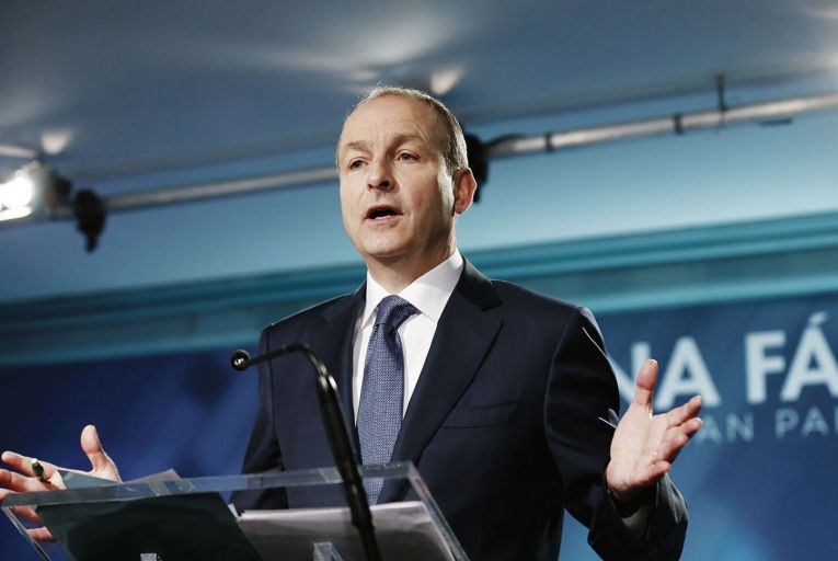 Micheál Martin will set up a review of Fianna Fáil's general election performance. Picture: Rollingnews