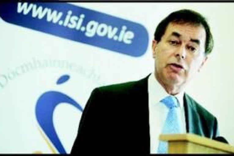 Justice minister Alan Shatter. Photo: Tony O\'Shea