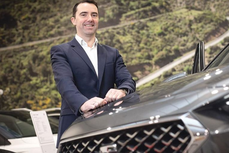 Neil Dalton, head of marketing  and product, Seat Ireland Picture: Fergal Phillips