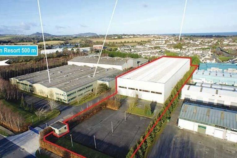 Modern industrial unit in Kilcoole guiding €1.9m