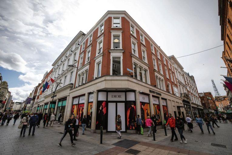 Brown Thomas, a pivotal retail presence on Dublin's Grafton Street . Picture: Fergal Phillips