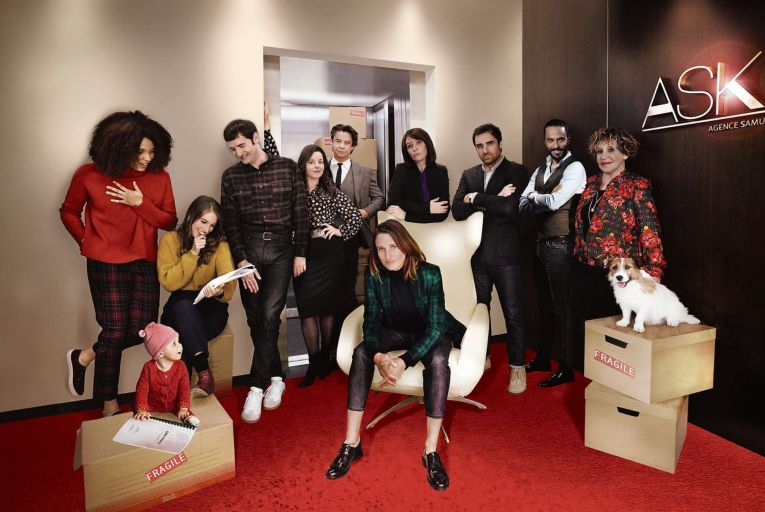 TV review: A French fancy's amusing take on office politics