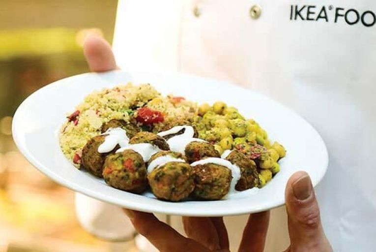 Ikea's veggie meatballs, a new alternative to its more famous product