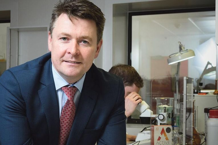 Pat O\'Flynn, chief executive, Solvotrin: 'We fix products with clever science and the resulting new products avoid the side effects'           John Allen