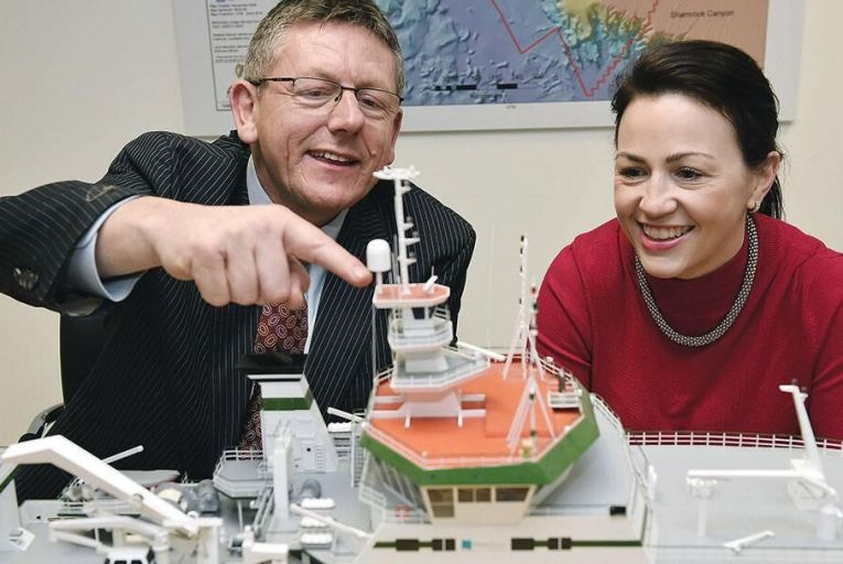 Liam Lacey, director, Irish Maritime Development Office and Dr Edel O'Connor, business development manager, Irish Maritime