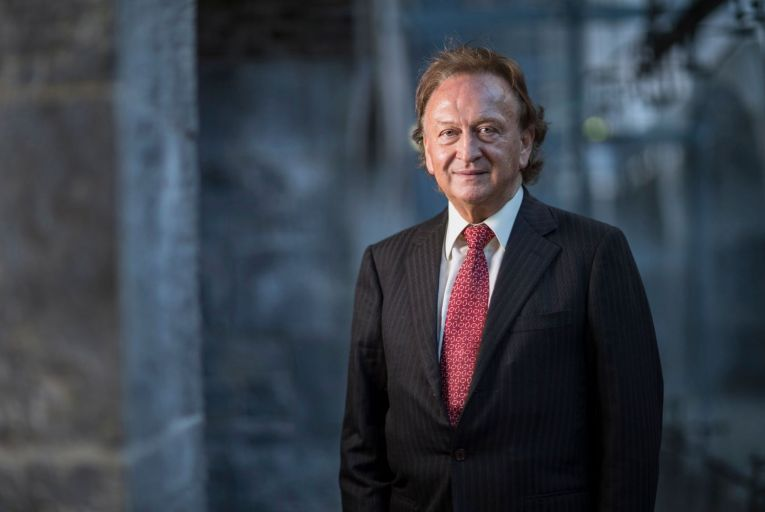 Sean Mulryan chairman & group chief Executive of Ballymore Group   Credit: Fergal Philips