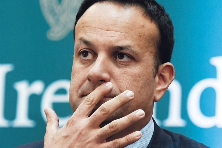 Taoiseach Leo Varadkar 'has made a calling card of his hardline stance on Brexit' Pic: Getty