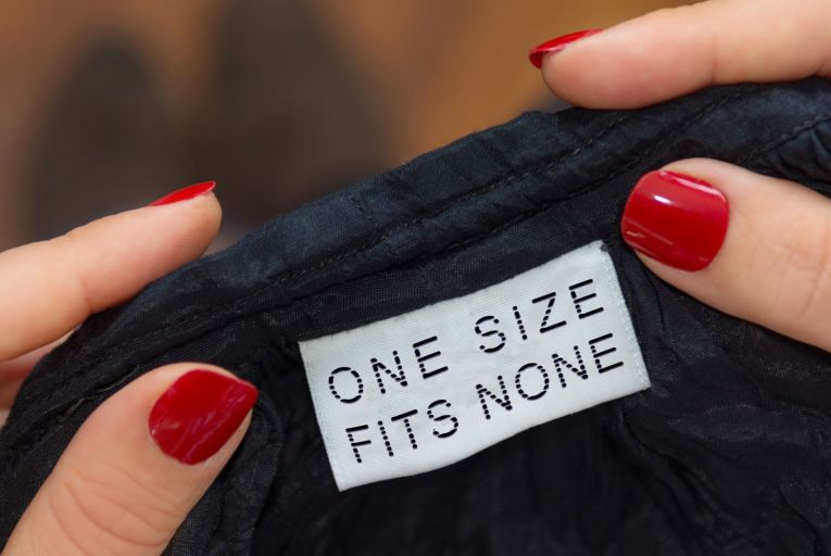 Clothes sizing has long been a bugbear of female shoppers. Picture: Getty