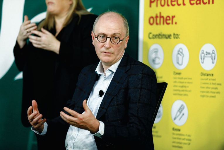 Dr Ray Walley of the national Covid-19 GP liaison committee: 'we don't want to waste any vaccines' Pic: RollingNews.ie