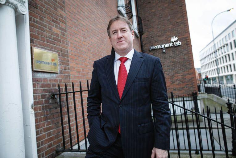 Permanent TSB's new chief executive, Eamonn Crowley. Picture: Fergal Phillips.