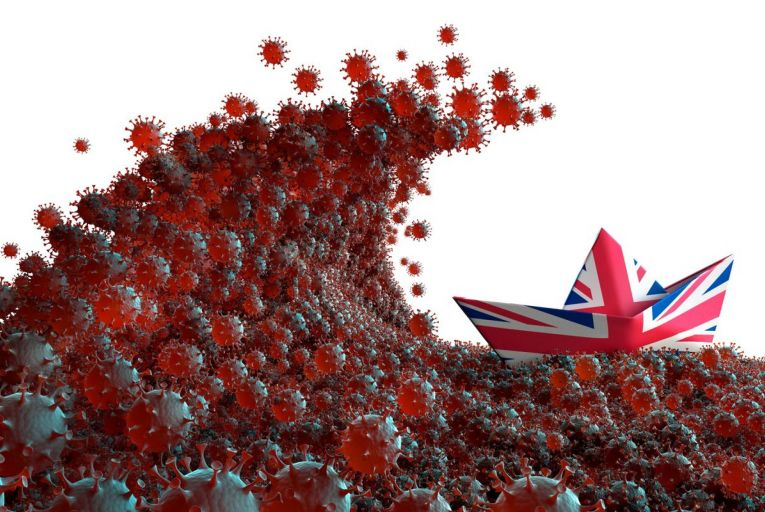 Whereas many of its European neighbours – notably Italy – are now performing far better in the fight against the virus, Britain more closely resembles the pandemic-stricken United States. Picture: Getty