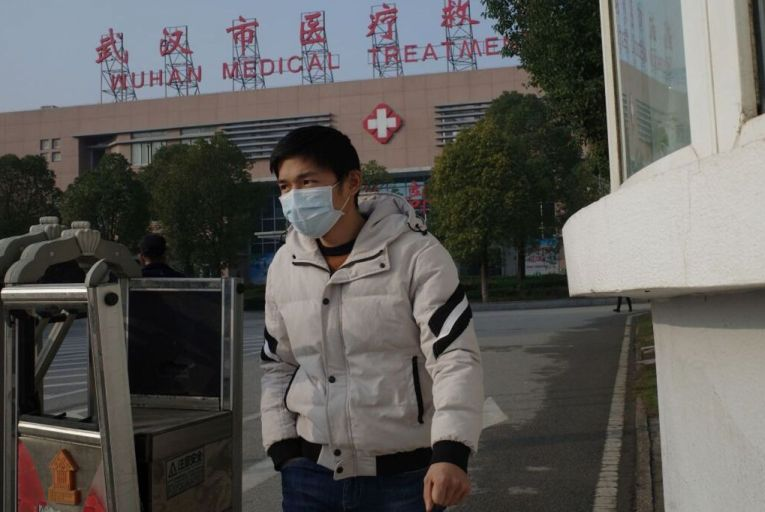An outbreak that started in the Chinese city of Wuhan has arrived at the door of Irish people and businesses. Picture: AFP via Getty Images