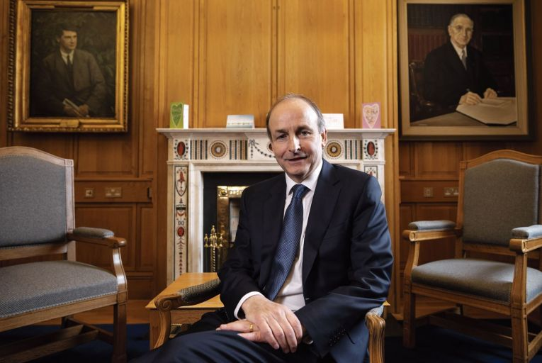 Micheál Martin: 'The pandemic has helped us to accelerate health reforms'