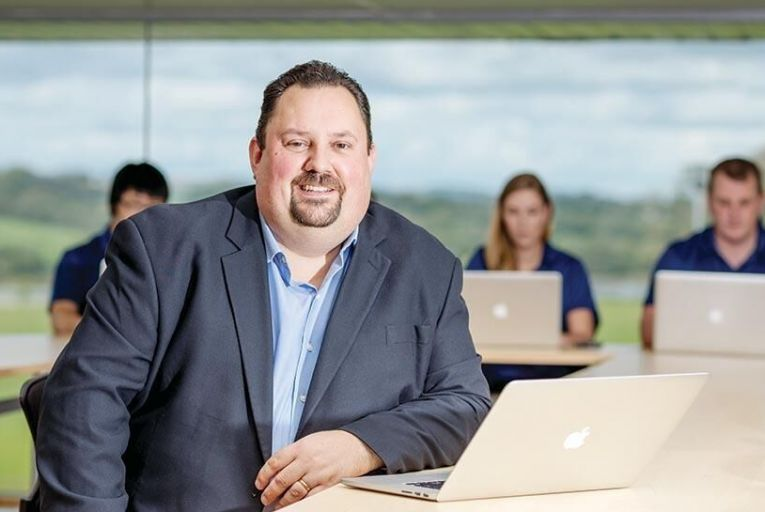Larry Breen, global vice-president  of product, RouteMatch Software Picture: Dylan Vaughan