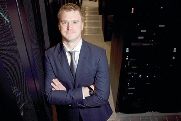 Barry McMahon,  data centre and cloud  proposition manager at BT