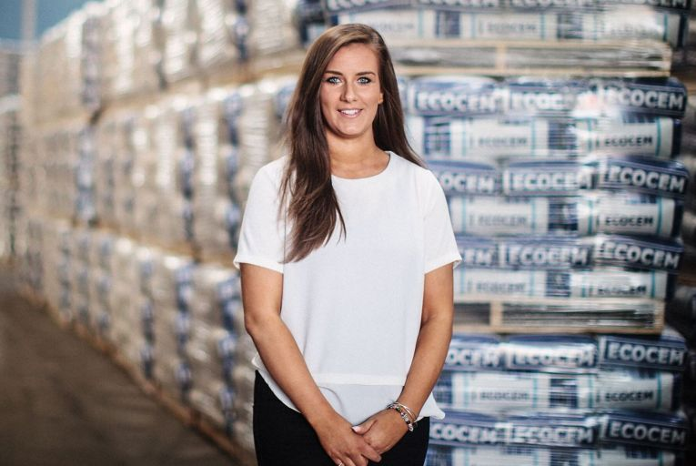 """Susan McGarry, managing director of Ecocem Ireland; """"My career really took off when I started thinking about where I wanted to be in life and making conscious decisions about how to get there."""""""