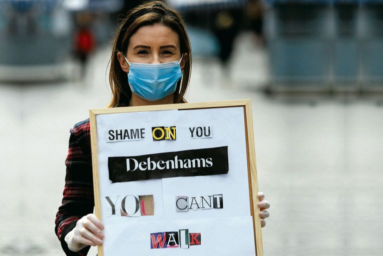 Trouble in store: Workers continue fight to prevent a 'Debenhams II'
