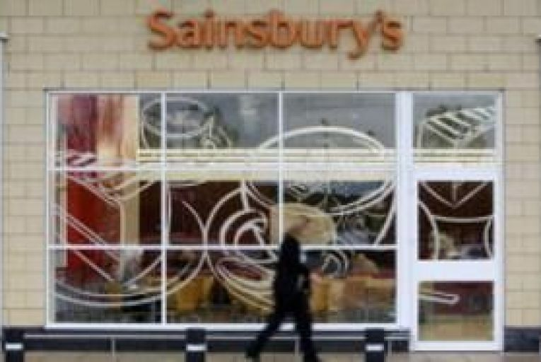 Sainsbury's profit rises in first half
