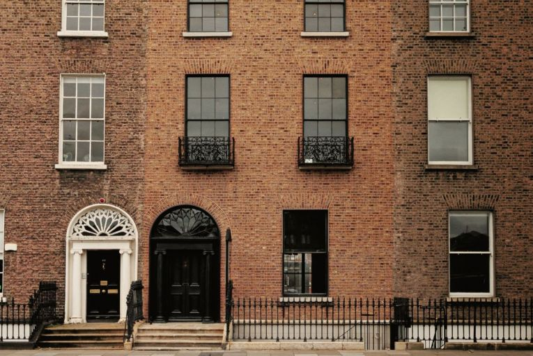Refurbished Leeson Street offices and mews for rent