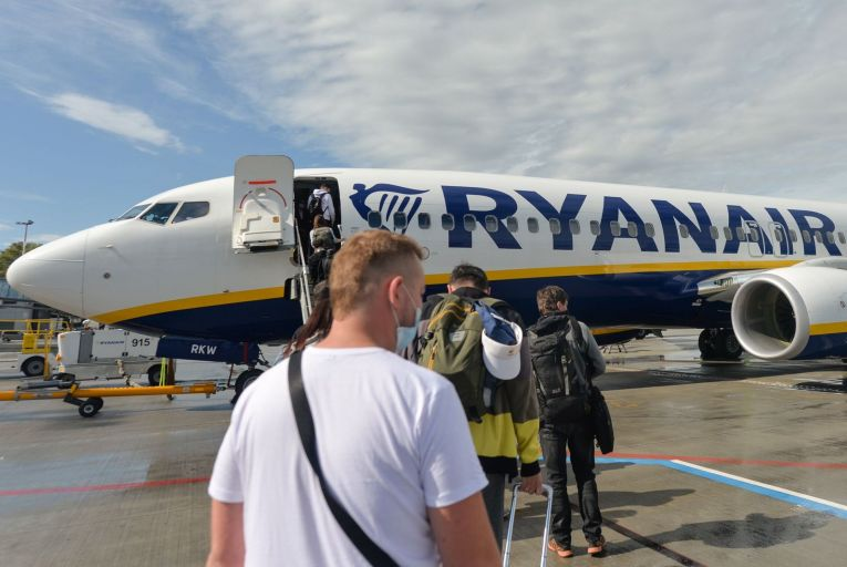 Despite the near-closure of the travel sector, Ryanair's share price will end the year higher than it started at close to €16.50 – a sign of just how distorted the markets have become. Photo: Getty