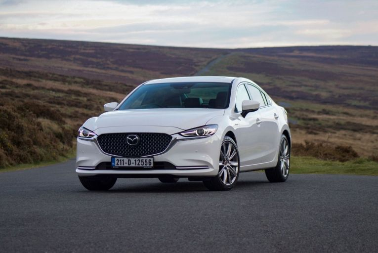The Mazda6 is offered as an estate as well as a conventional four-door saloon