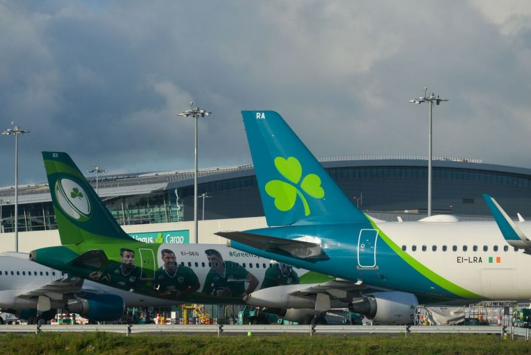 Aer Lingus has taken a hammering from Covid. State ownership would guarantee vital connectivity for the airline. Picture: Getty