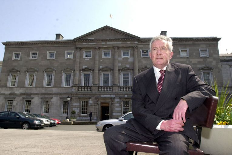 Des O'Malley, who served as a TD from 1968 to 2002, has died. Picture: Rollingnews.ie
