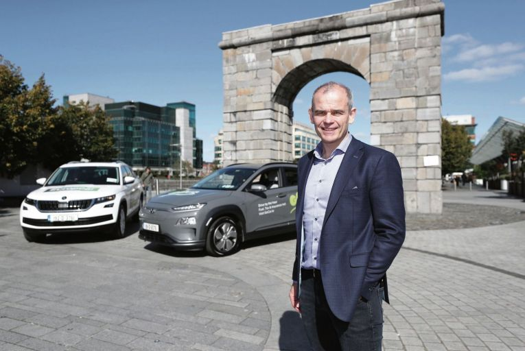 Colm Brady, managing director of Europcar Mobility Group Ireland: business up across 2020 Picture: Conor McCabe
