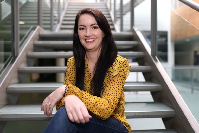 Dr Kellie Adamson, co-founder of Septec, has developed a rapid test for bloodstream infection