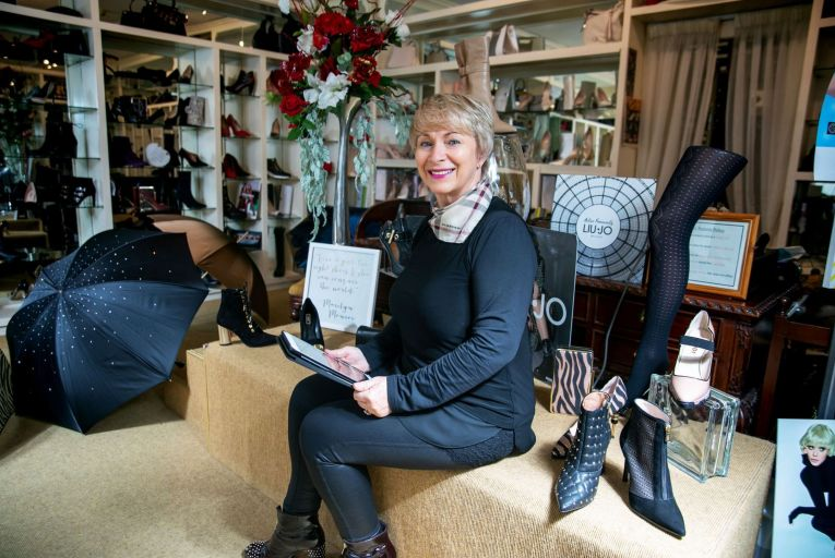 Mary Flanagan Ryan, owner of Nozomi Shoe Boutique in Ennis Co Clare: timely online launch Picture: Arthur Ellis