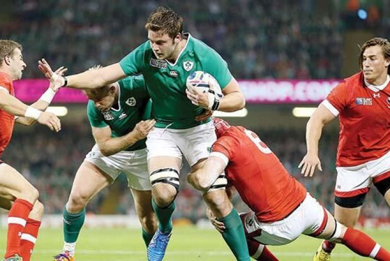 Ireland's Iain Henderson in action against Canada last weekendPicture: INPHO