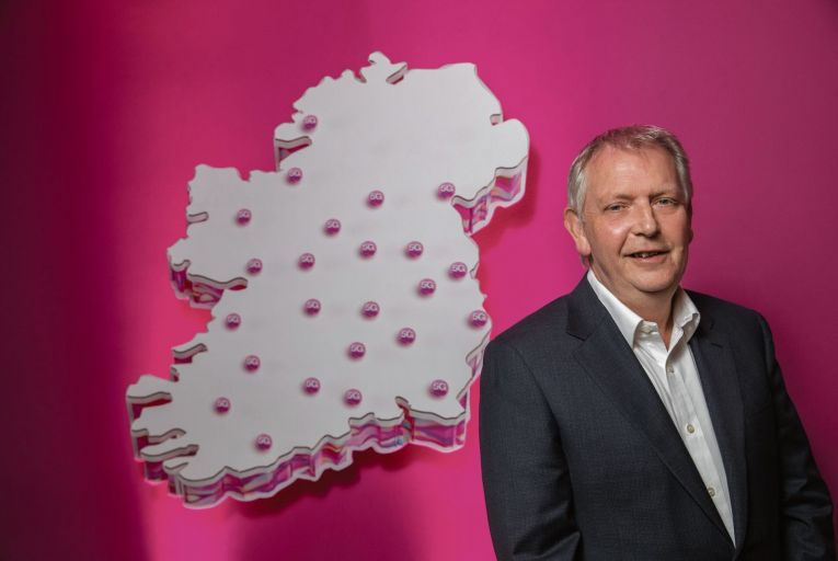David Hennessy, chief technology officer at Three Ireland: '5G is a huge step up – you're getting speeds five or ten times faster'