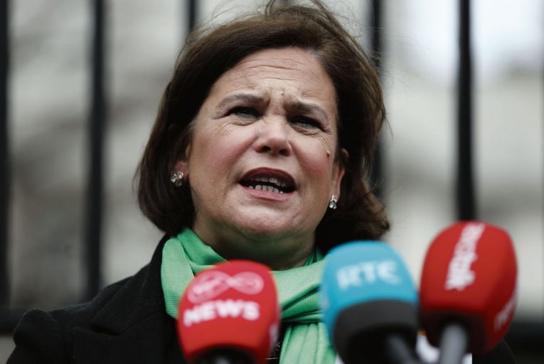 Mary Lou McDonald, Sinn Féin's party president. The Dáil committee on procedure and privileges ruled in 2015 that McDonald had abused Dáil privilege when she named six former ministers who she claimed were linked to offshore Ansbacher accounts. Credit: Rollingnews