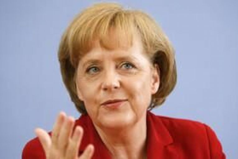 Merkel: firm foundation required for stable euro