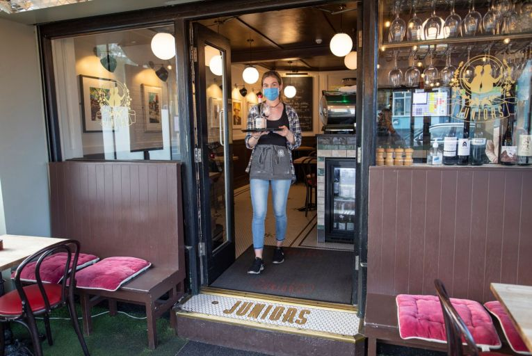Juniors, a cosy spot with both indoor and terrace seating, is offering a takeaway menu while closed due to Covid restrictions