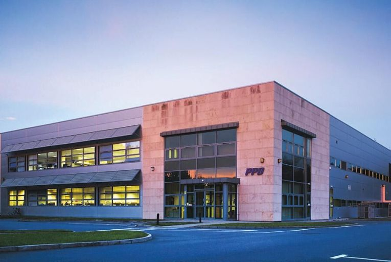 PPD Laboratories  in Athlone,  Co Westmeath