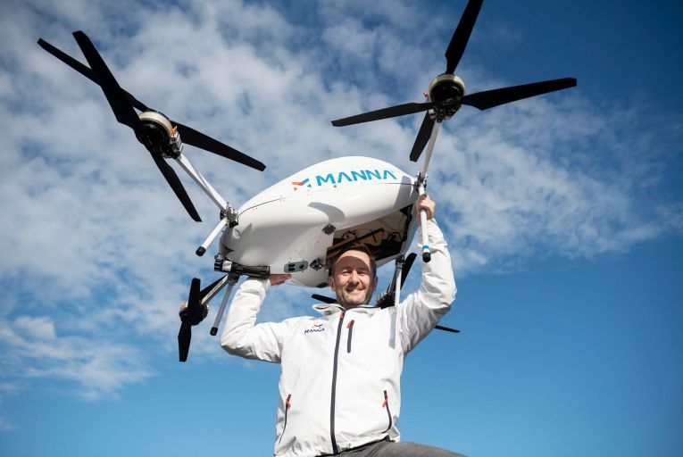 The Sunday Interview: Bobby Healy, founder of Manna Drone Delivery