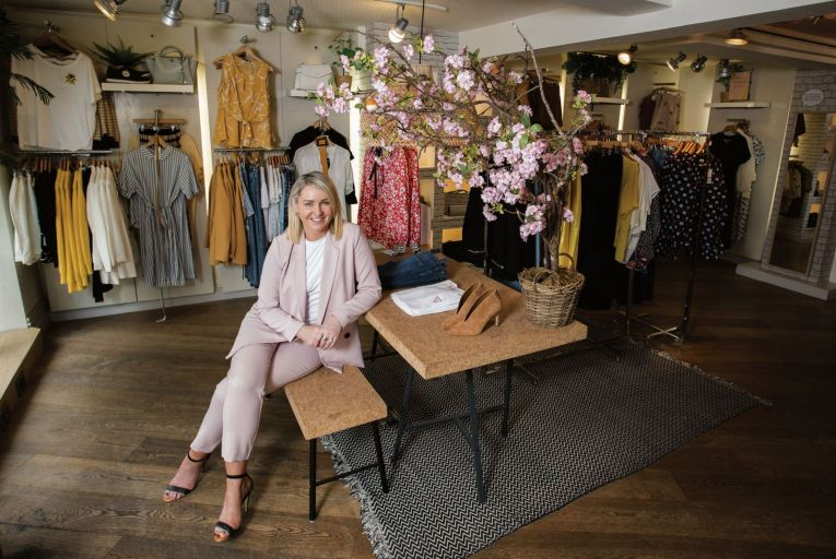Jean McCabe, the managing director of Willow boutique in Ennis Picture: Alan Place