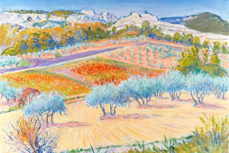 Les Catalans, Les Baux de Provence, by Frederick Gore