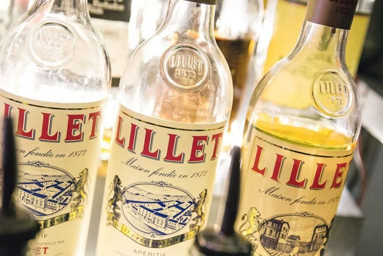Lillet is 85 per cent wine and 15 per cent liqueur and comes in red, white and rosé
