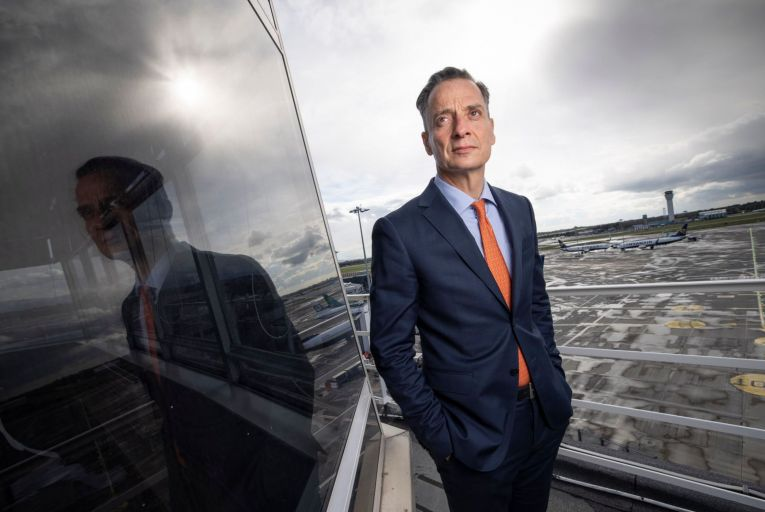 Dalton Philips, chief executive of the Dublin Airport Authority: 'We can't lose the competitive position that we have' PIc: Fergal Phillips