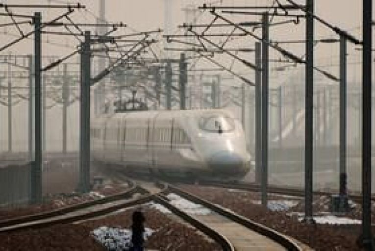 China launches longest high speed train line