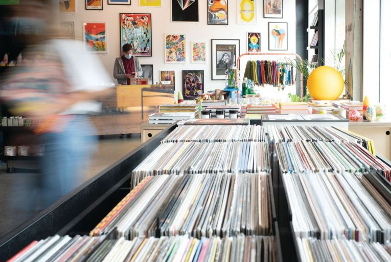 The colourful Hen's Teeth space in Blackpitts, Dublin 8 will also be home to a hi-fi/ listening lounge