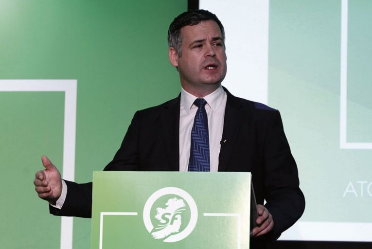 Pearse Doherty, the Sinn Féin finance spokesman, also called on the regulator to launch a tracker mortgage-style probe into BI claims. Picture: RollingNews.ie